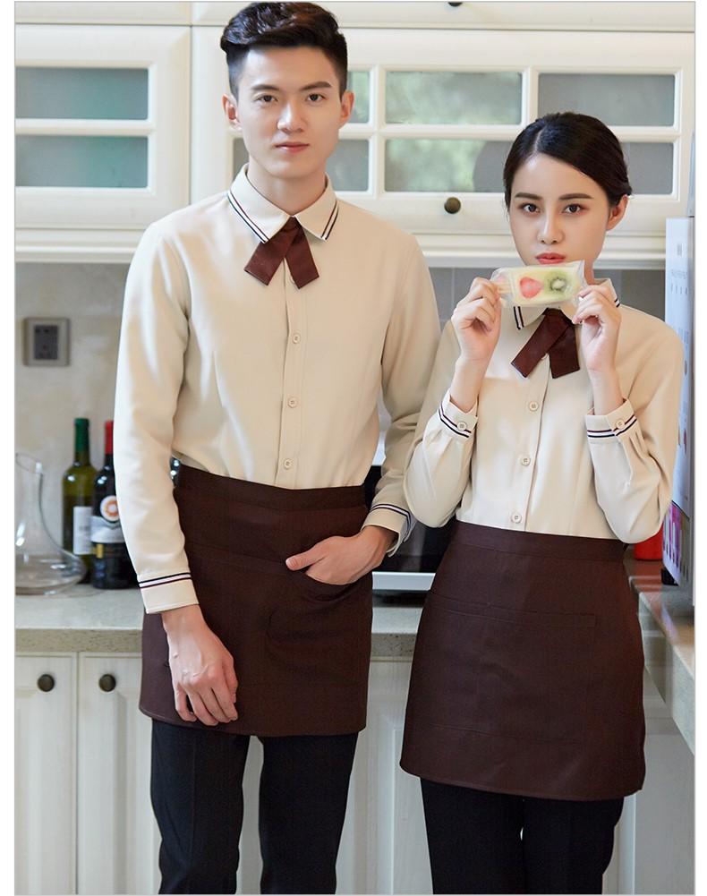 咖啡店工作服